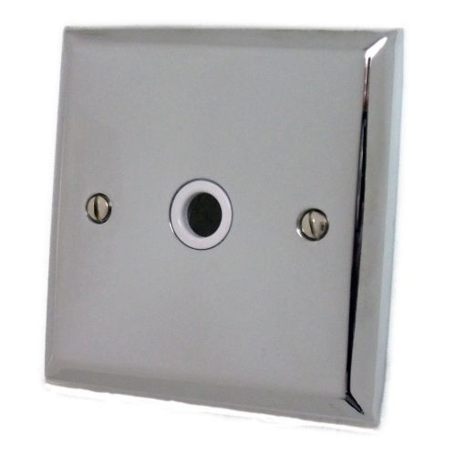 G&H SC79W Spectrum Plate Polished Chrome 1 Gang Flex Outlet Plate